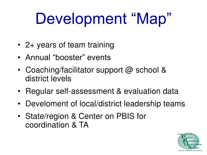 "Development ""Map"""