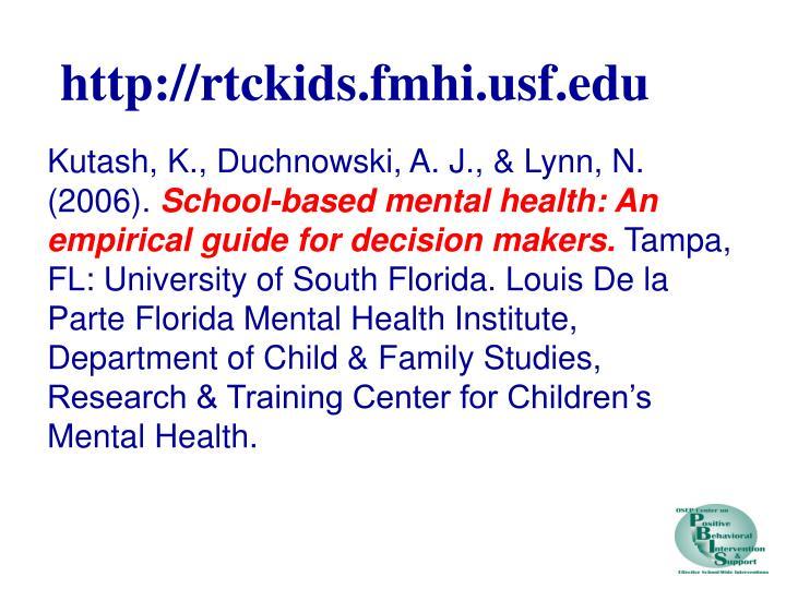 http://rtckids.fmhi.usf.edu