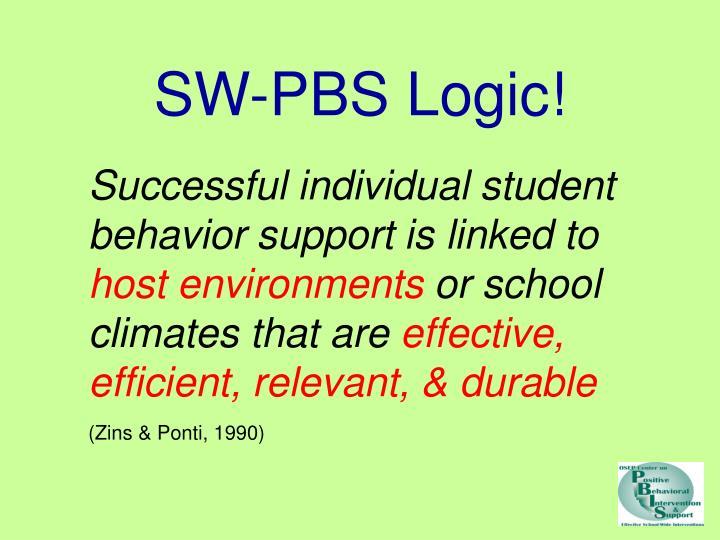 SW-PBS Logic!