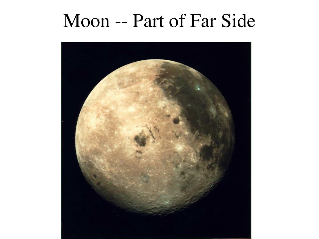 Moon -- Part of Far Side