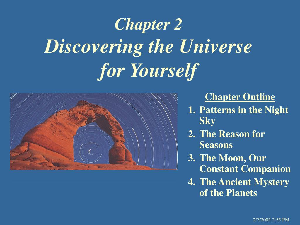 chapter 2 discovering the universe for yourself