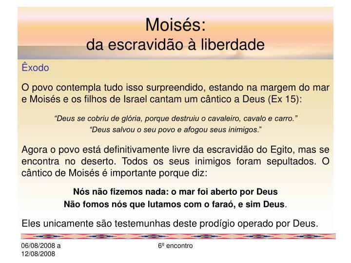 Moisés: