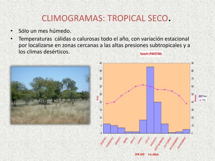 CLIMOGRAMAS: TROPICAL SECO