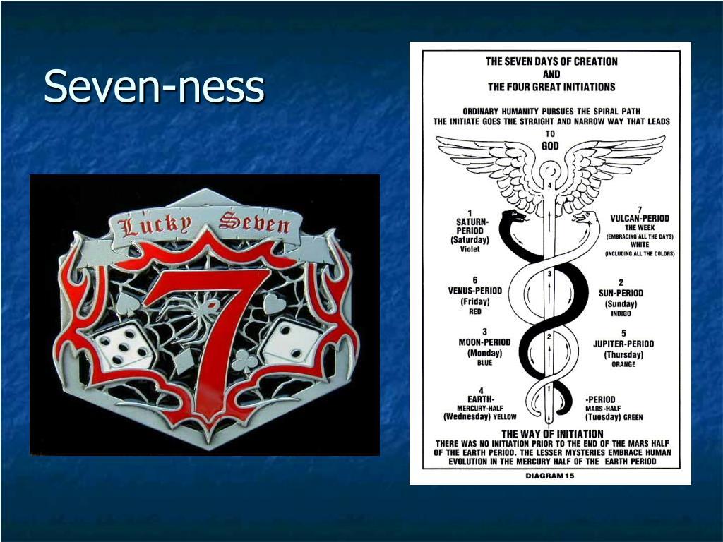 Seven-ness