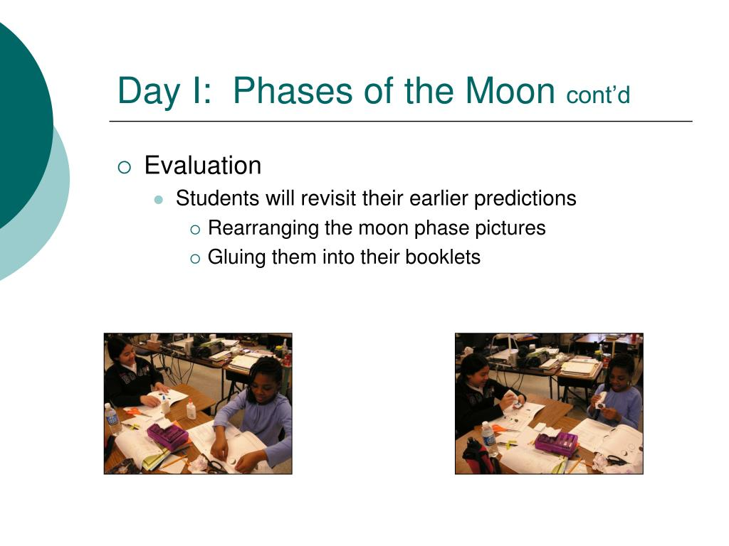Day I:  Phases of the Moon
