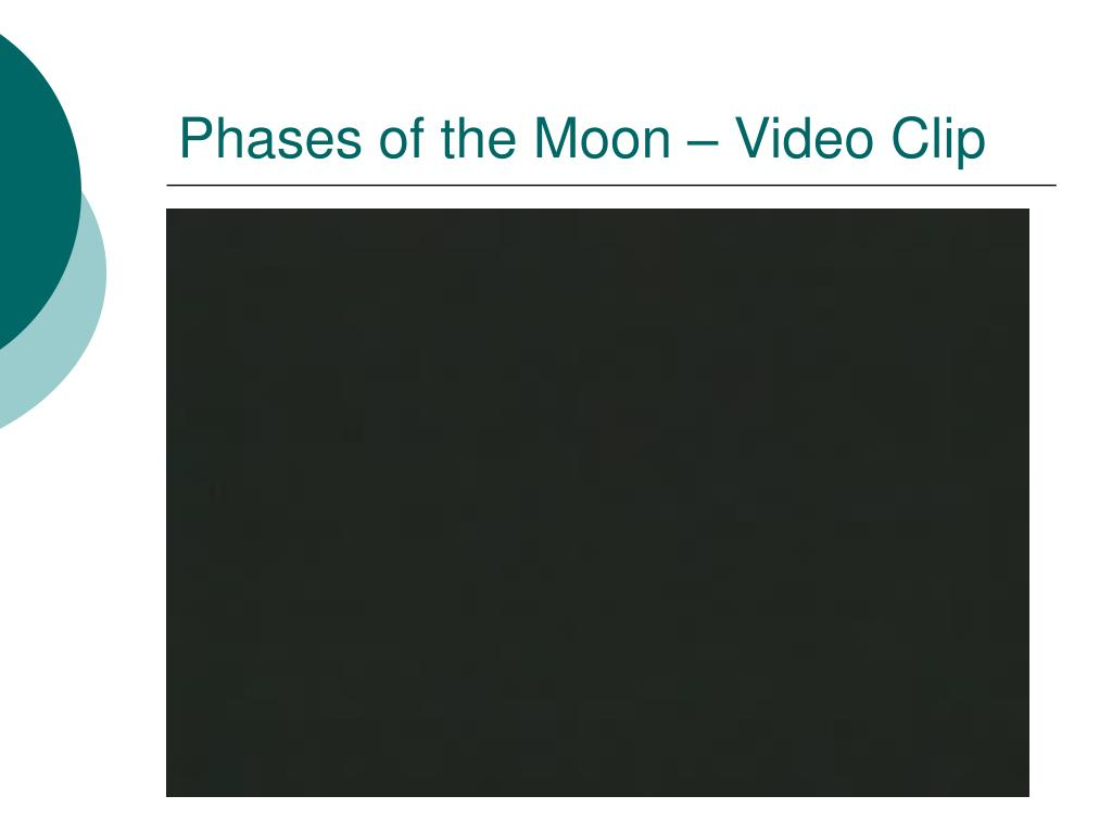 Phases of the Moon – Video Clip