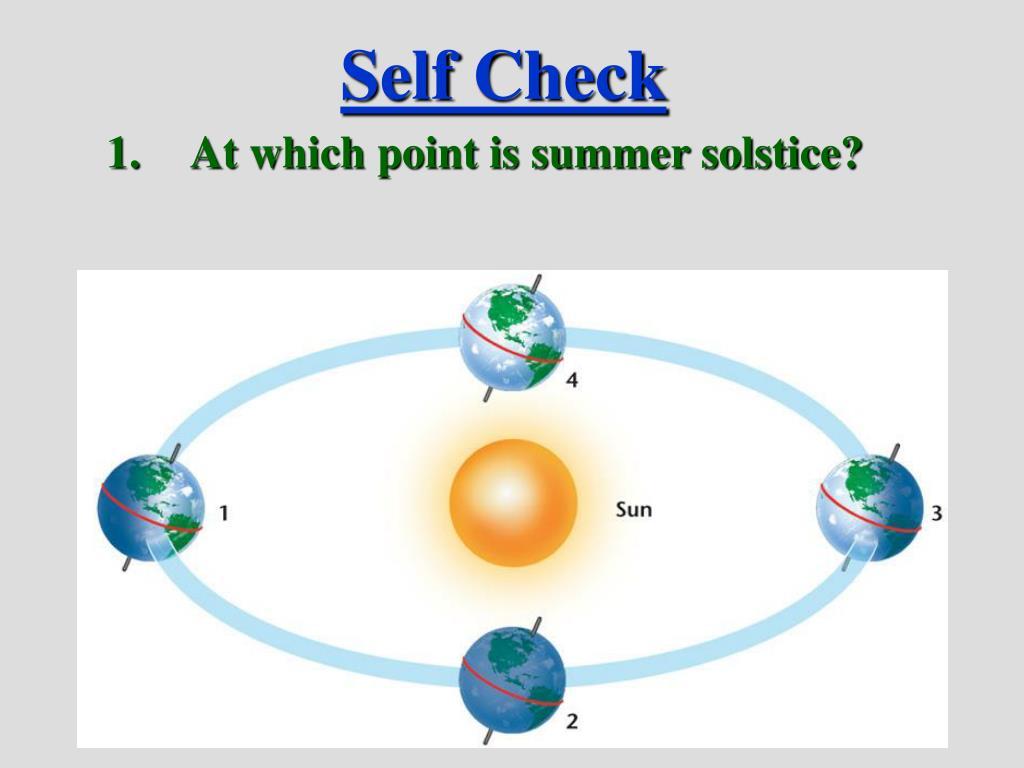 Self Check