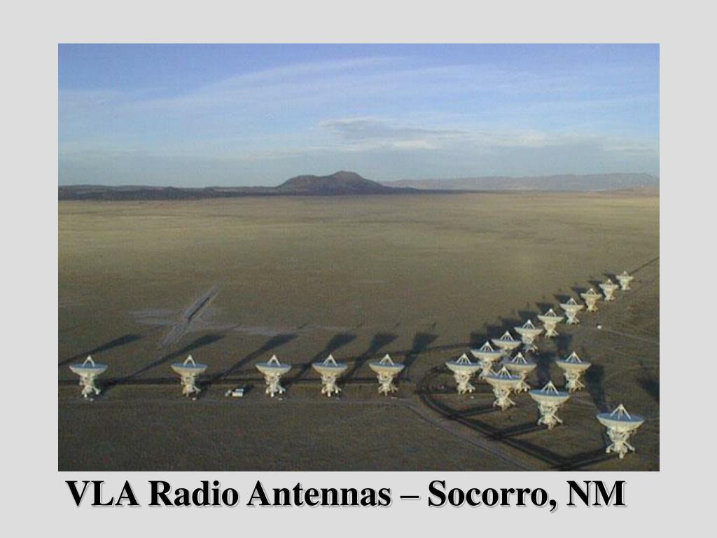 VLA Radio Antennas – Socorro, NM