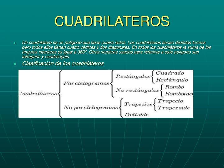 CUADRILATEROS