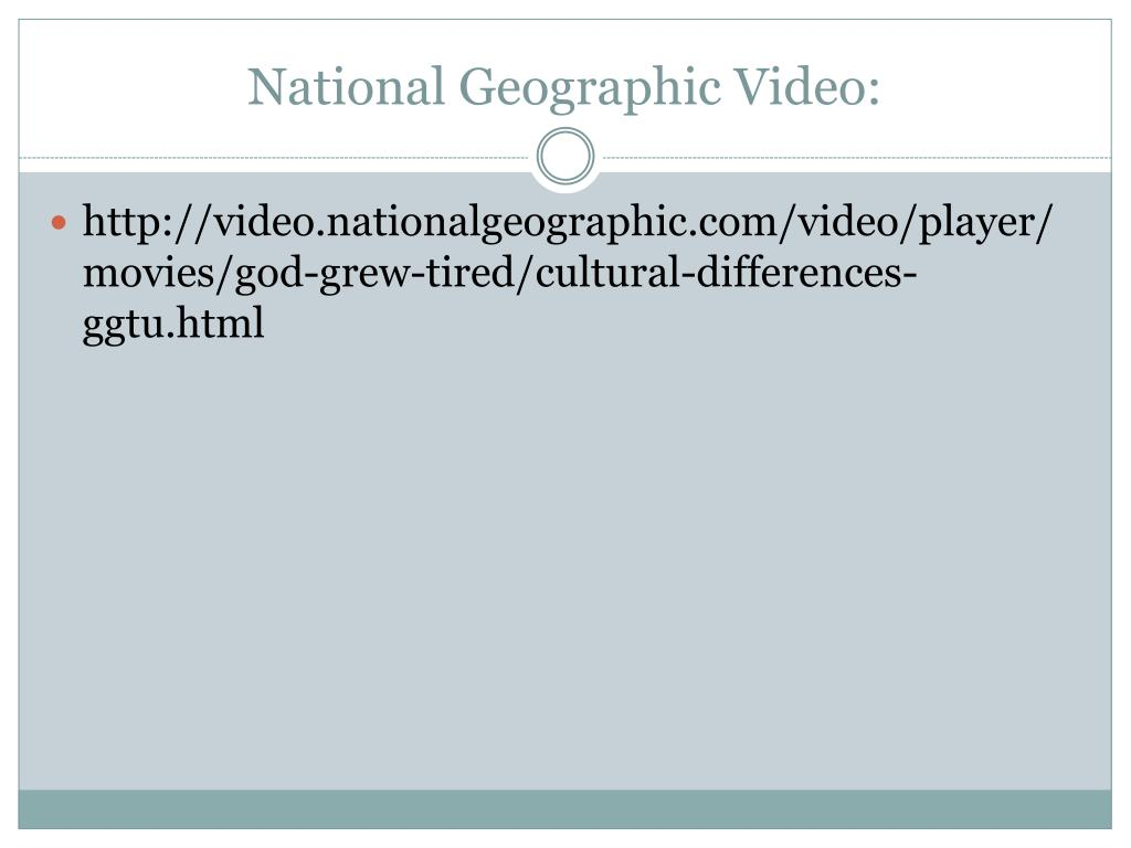 National Geographic Video: