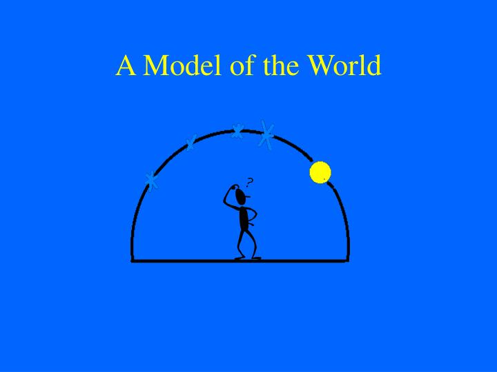 A model of the world l.jpg
