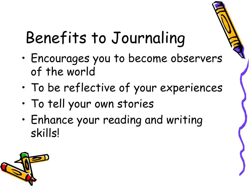 Benefits to Journaling