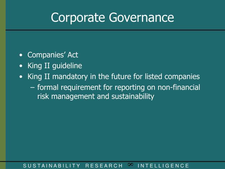 Companies' Act