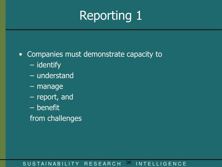 Companies must demonstrate capacity to