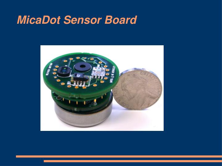 MicaDot Sensor Board