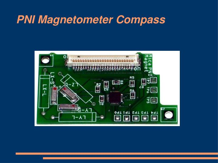 PNI Magnetometer Compass