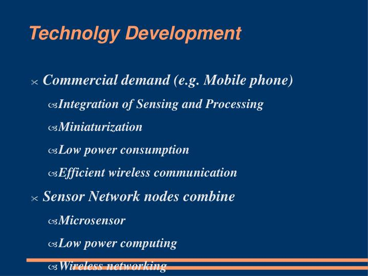 Technolgy Development