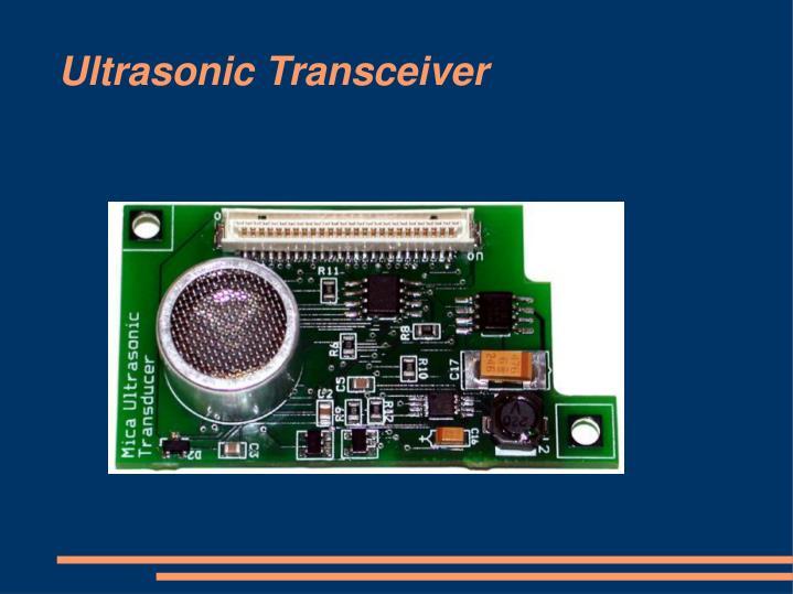 Ultrasonic Transceiver