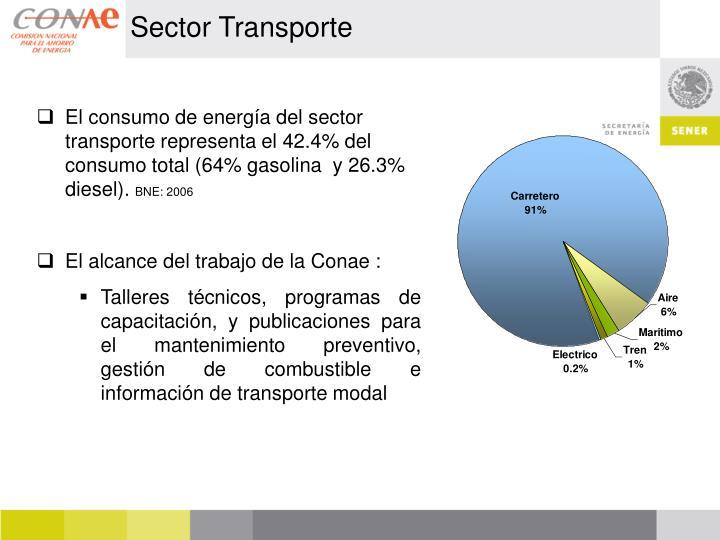 Sector Transporte