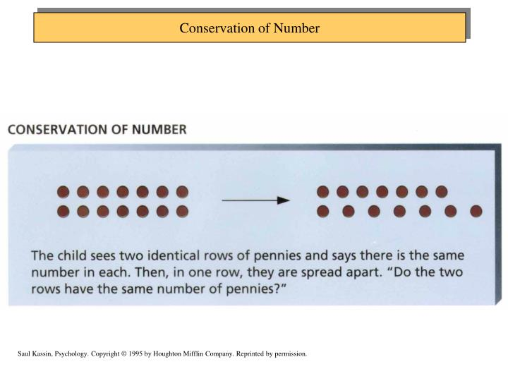 Conservation of Number