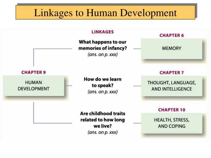 Linkages to Human Development