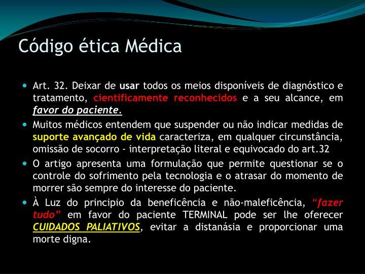 Código ética Médica
