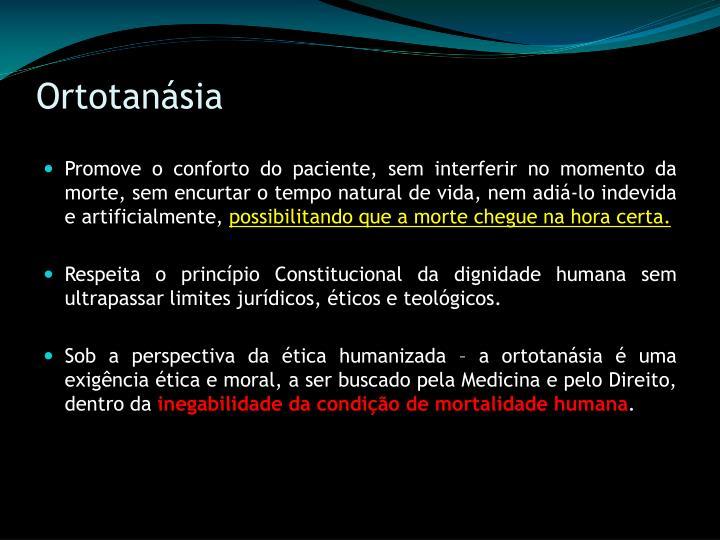 Ortotanásia