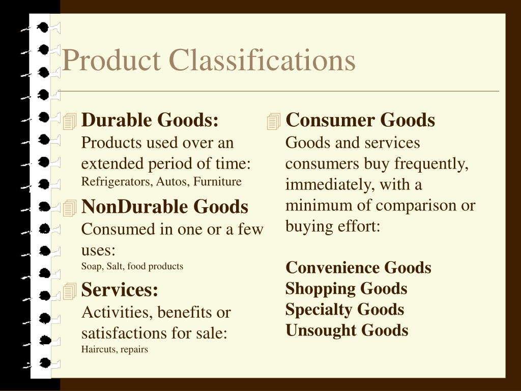 Durable Goods: