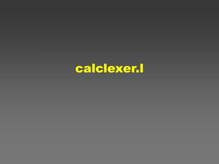 calclexer.l