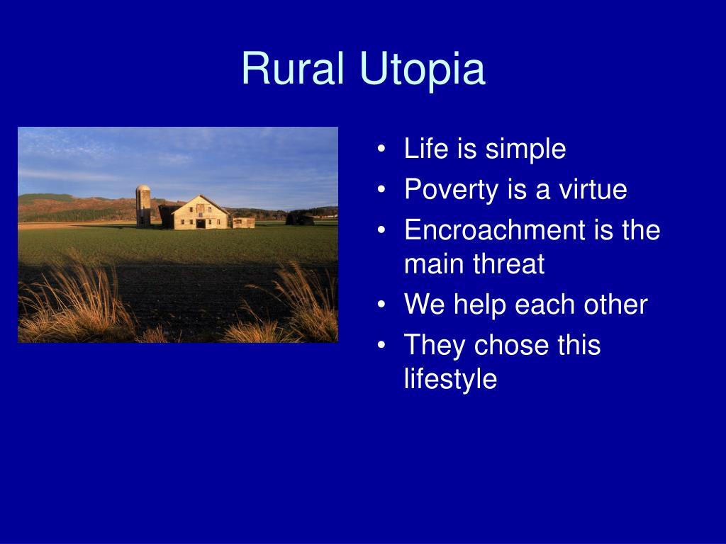Rural Utopia