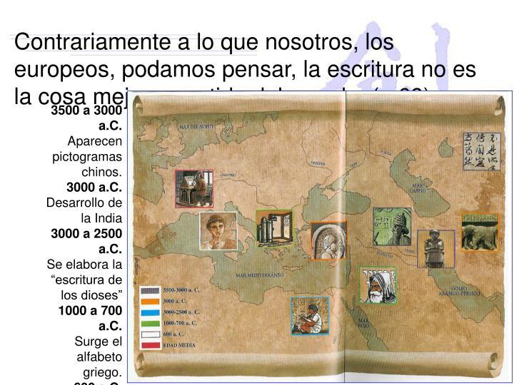 3500 a 3000 a.C.