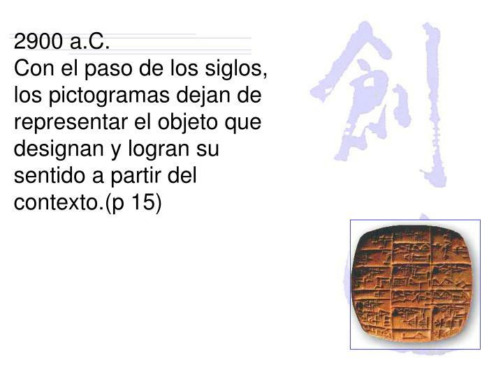 2900 a.C.