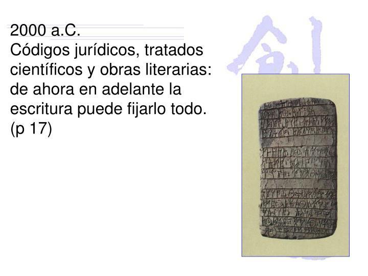 2000 a.C.