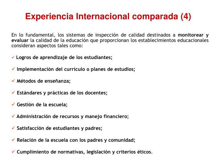 Experiencia Internacional comparada (4)