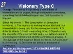 visionary type c