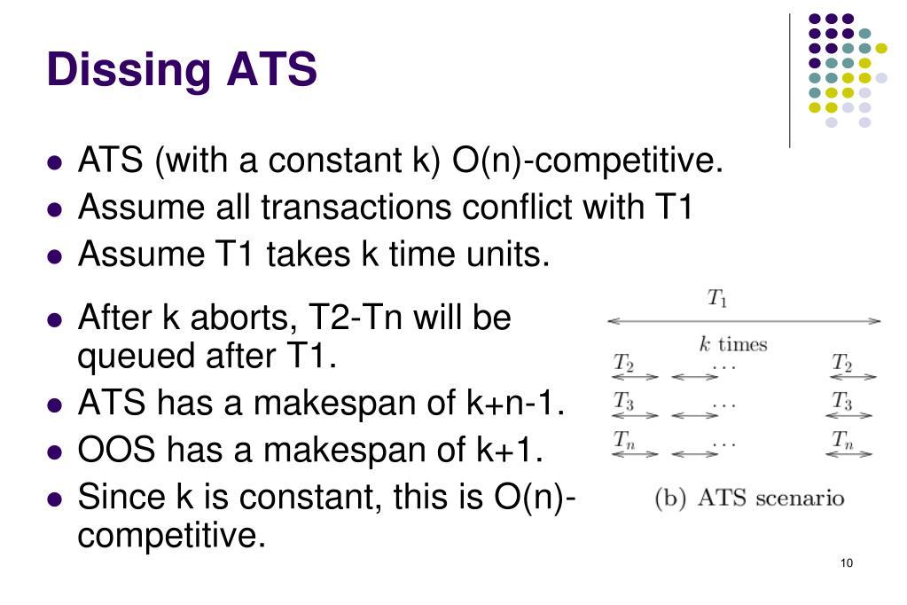 Dissing ATS