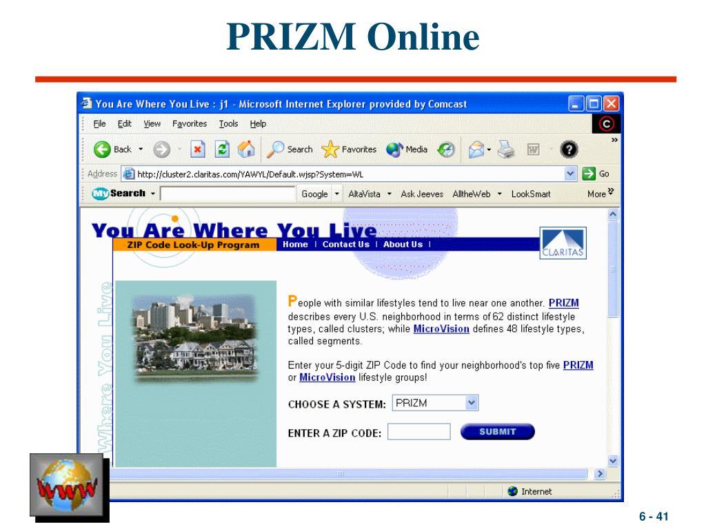PRIZM Online