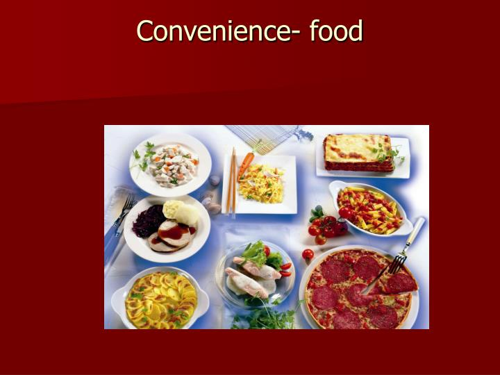 Healthy Food From Convenience Store