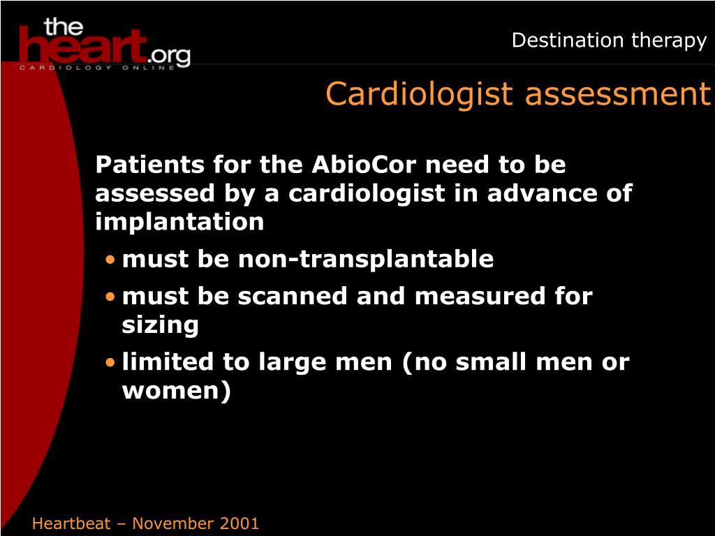 Cardiologist assessment
