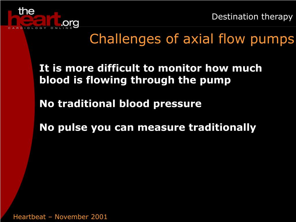 Challenges of axial flow pumps