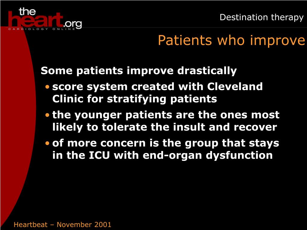 Patients who improve