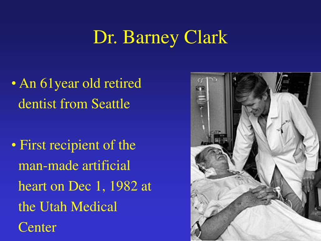 Dr. Barney Clark