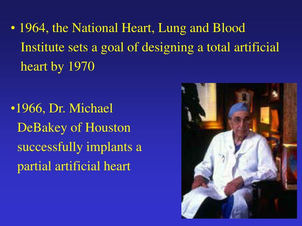 1966, Dr. Michael