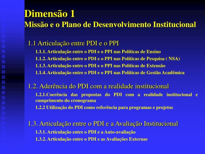 Dimensão 1