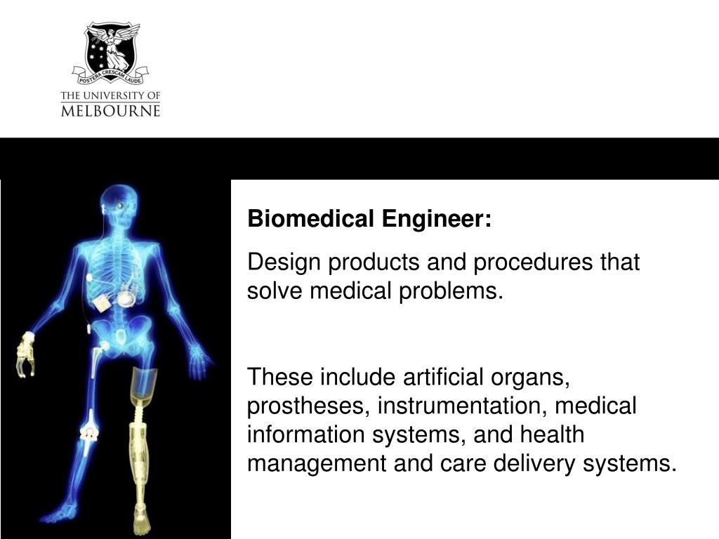 Biomedical Engineer: