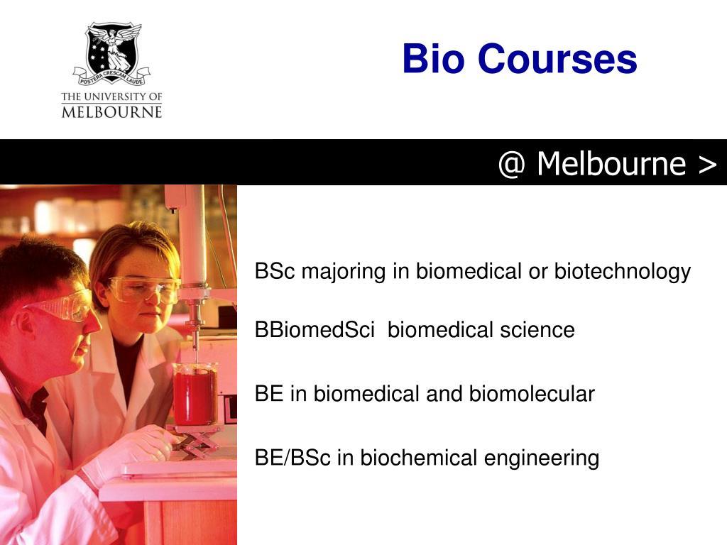 Bio Courses