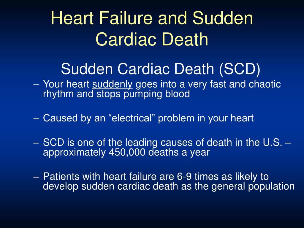 Heart Failure and Sudden Cardiac Death