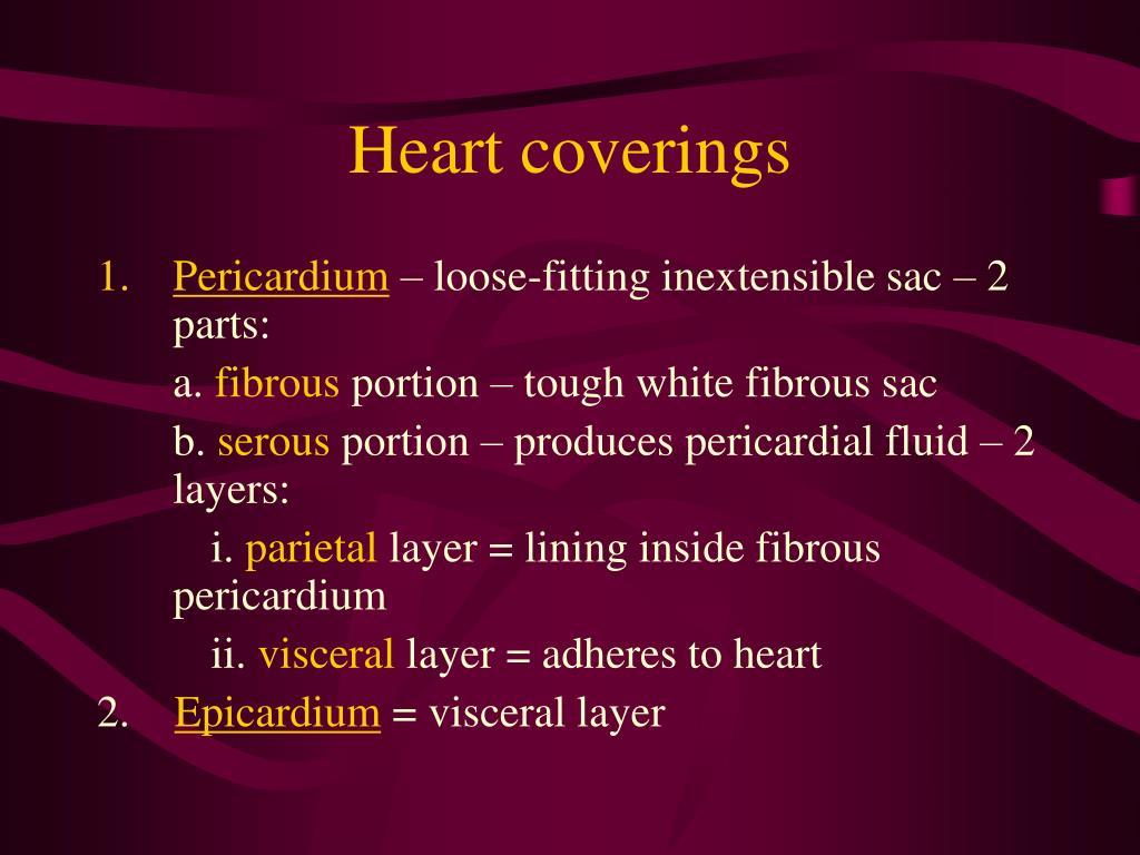 Heart coverings