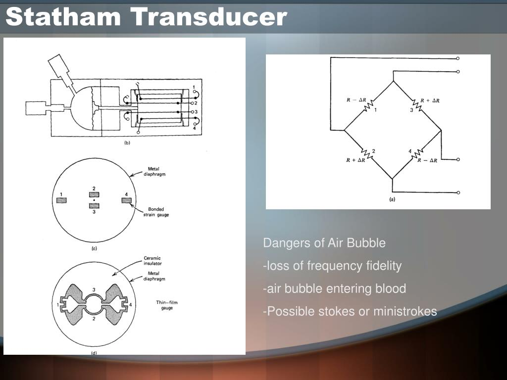 Statham Transducer