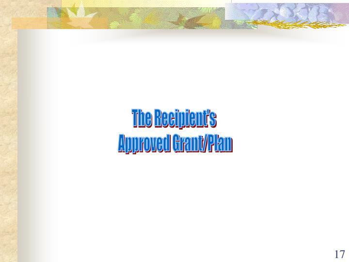 The Recipient's